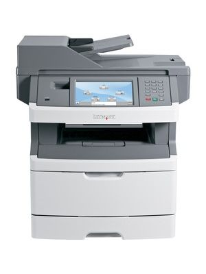 Lexmark X460 X466DE Laser Multifunction Printer - Monochrome - Plain Paper Print - Desktop - Copier/Fax/Printer/Scanner - 40 ppm Mono Print - 1200 x 1200 dpi Print - Automatic Duplex Print - 40 cpm Mono Copy - 7