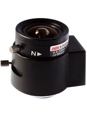 Hikvision - 4.50 mm to 10 mm - f/1.6 - Zoom Lens for CS Mount - Designed for Surveillance Camera - 2.2x Optical Zoom