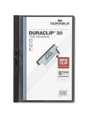 DURABLE Duraclip Report Covers - Letter - 8 1/2