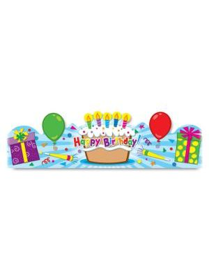 Carson-Dellosa Star Student Crowns - Happy Birthday Preprinted - 30/Pack - Assorted