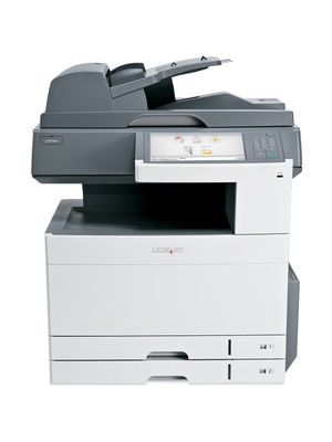 Lexmark X925DE LED Multifunction Printer - Color - Plain Paper Print - Desktop - Copier/Fax/Printer/Scanner - 31 ppm Mono/31 ppm Color Print - 600 x 600 dpi Print - Automatic Duplex Print - 31 cpm Mono/31 cpm Color Copy - 10.2