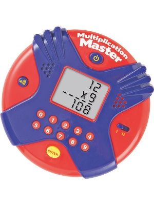 Learning Resources Multplctn Mstr Electronic Flash Card - Theme/Subject: Learning - Skill Learning: Multiplication