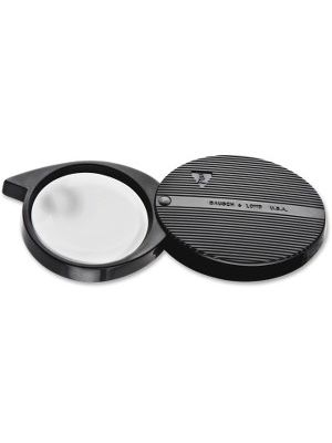 Bausch & Lomb Single-lens 4X Pocket Magnifier - Magnifying Area 1.42