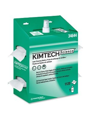 KIMTECH KimWipes Lens Cleaning Station - For Eyeglasses, Safety Goggle