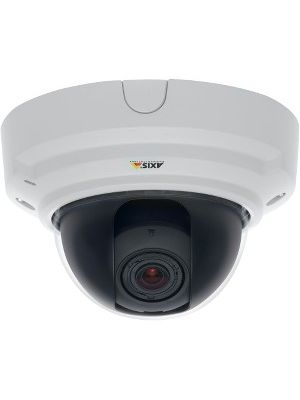 AXIS P3364-V Network Camera - Color, Monochrome - 1280 x 960 - 2.4x Optical - CMOS - Cable - Fast Ethernet