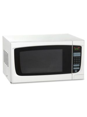 Avanti 1.4 cu ft Microwave - Single - 10.47 gal Capacity - Microwave - 10 Power Levels - 1000 W Microwave Power - 110 V AC - White