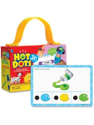 Hot Dots Jr. Colors Card Set - 36 Pieces
