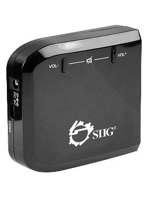 SIIG Micro HDMI to VGA with Audio Adapter - Functions: Signal Conversion - Yes - 1 Pack