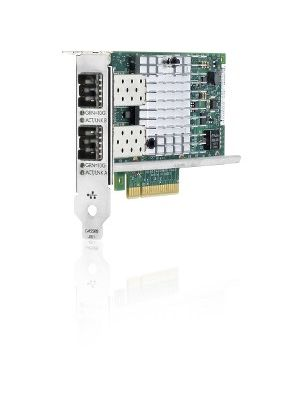 HPE Ethernet 10Gb 2-Port 560SFP+ Adapter - PCI Express x8 - Low-profile