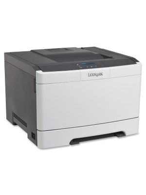 Lexmark CS310DN Laser Printer - Color - 2400 x 600 dpi Print - Plain Paper Print - Desktop - 25 ppm Mono / 25 ppm Color Print - 250 sheets Standard Input Capacity - 60000 Duty Cycle - Automatic Duplex Print - LCD - Ethernet - USB