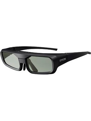 Epson 3D Glasses (RF) ELPGS03 - For Projector - LCD - Radio Frequency - Battery Rechargeable - Black