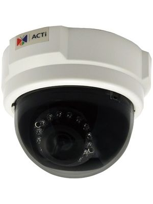 ACTi Network Camera - Color, Monochrome - Board Mount - 1280 x 720 - CMOS - Cable - Fast Ethernet - Dome