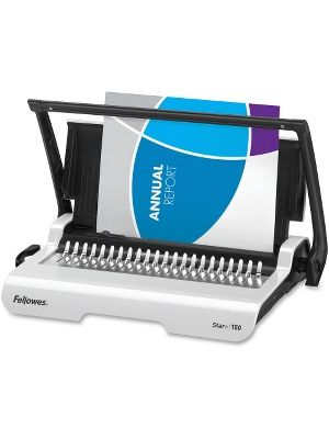 Fellowes Star™+ 150 Manual Comb Binding Machine - CombBind - 150 Sheet(s) Bind - 15 Punch - 3.1