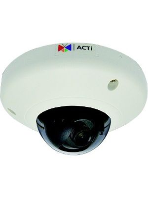 ACTi 3 Megapixel Network Camera - Color - Board Mount - 2048 x 1536 - CMOS - Cable - Fast Ethernet - Dome - Surface Mount