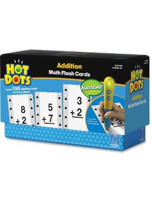 Hot Dots Hot Dots Addtn Facts Flash Cards - Accessory For Kids Reading System