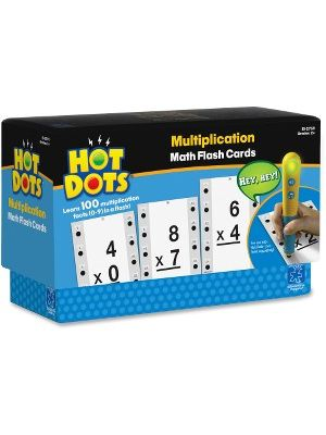 Hot Dots Hot Dots Multiplictn Flash Cards - Accessory For Kids Reading System