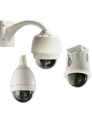 Bosch AutoDome VG5-161-CT0 Surveillance Camera - 1 Pack - Color - 5x Optical - CCD - Cable - Dome - Ceiling Mount