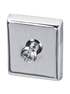 Lorell Large Heavy-duty Cubicle Magnets - 2 / Pack