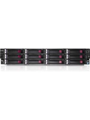HPE P4500 G2 7.2TB SAS Storage System - RemanufacturedIntel Xeon - 12 x HDD Installed - 7.20 TB Installed HDD Capacity - 3Gb/s SAS Controller - RAID Supported 5, 6, 10 - 12 x Total Bays - 12 x 2.5