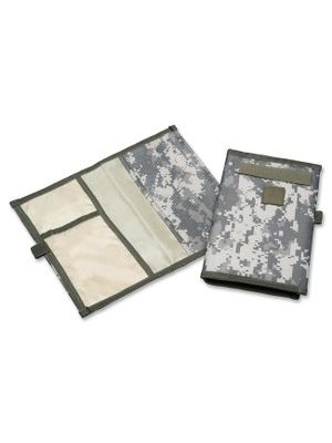 SKILCRAFT ACU Camo Record Book Cover - Supports Record Book - ACU Camouflage - Durable - Polyester - Camouflage - 1