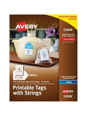 Avery® Printable Tags with Strings - 2