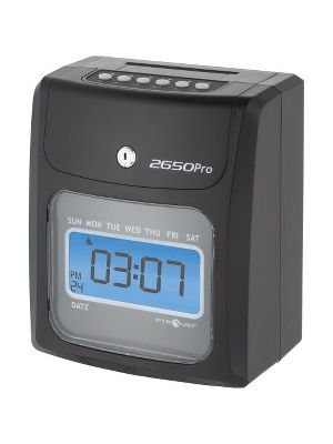 Pyramid 2650 6-Column Time Clock - Card Punch/StampUnlimited