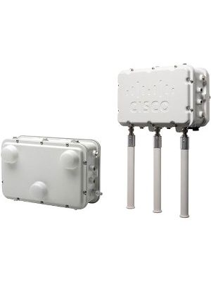 Cisco Aironet 1552H IEEE 802.11n 300 Mbit/s Wireless Access Point - ISM Band - UNII Band - 3 x Antenna(s) - 3 x External Antenna(s) - Pole-mountable