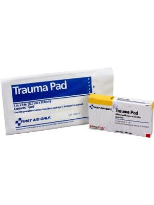 First Aid Only Trauma Pad - 5