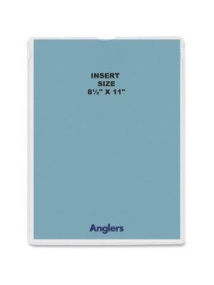 Anglers Heavy Crystal Clear Poly Envelopes - Document - 8 1/2