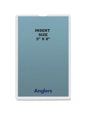 Anglers Self-stick Crystal Clear Poly Envelopes - File - 5