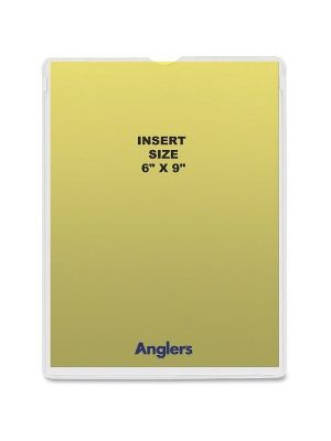 Anglers Self-stick Crystal Clear Poly Envelopes - File - 6