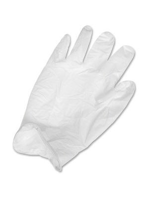Ansell Health Powder-free Latex Exam Gloves - Large Size - Latex, Natural Rubber - White - Textured, Powder-free, Comfortable, Acid Resistant, Alcohol Resistant, Ambidextrous, Disposable, Rolled Cuff, Beaded Cuff, Flexible, Chemical Resistant, ... - For