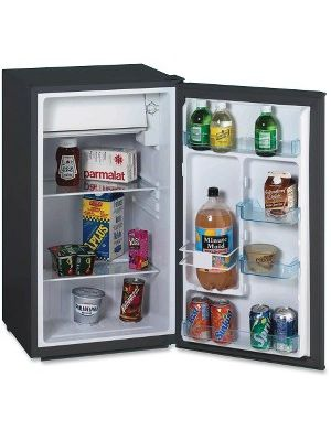 Avanti RM3316B 3.3CF Chiller Refrigerator - 3.30 ft³ - Manual Defrost - Reversible - 3.30 ft³ Net Refrigerator Capacity - Black