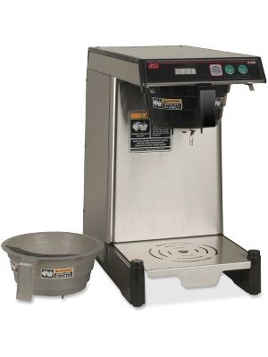 BUNN WAVE Combo Coffee/Tea Brewer - Programmable - 1350 W - 2.01 quart - Stainless Steel, Black, Silver - Plastic