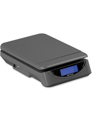 Brecknell PS25 Electronic Scale - 25 lb / 11.50 kg Maximum Weight Capacity - Gray