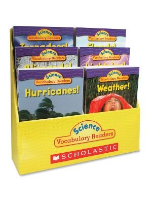 Scholastic Res. Grade 1-2 Vocabulary Readers Weather Books Education Printed Book for Science by Liza Charlesworth - English - Book
