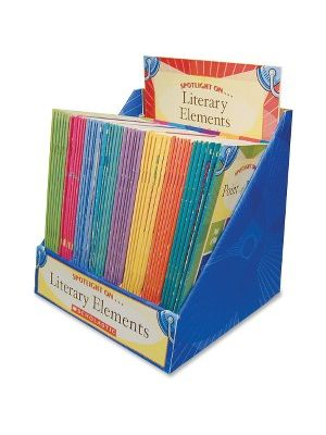 Scholastic Res. Spotlight Literary Elements Set Education Printed Book - Published on: 2004 - Softcover