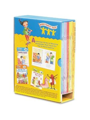 Scholastic Res. Word Family Tales Book Set Activity Printed Book - Softcover