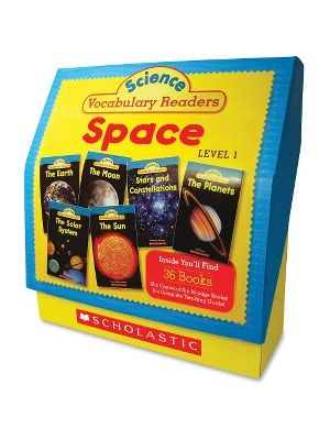 Scholastic Res. Grade 1-2 Vocabulary Readers Space Books Education Printed Book for Science by Liza Charlesworth - English - Book - 128 Pages