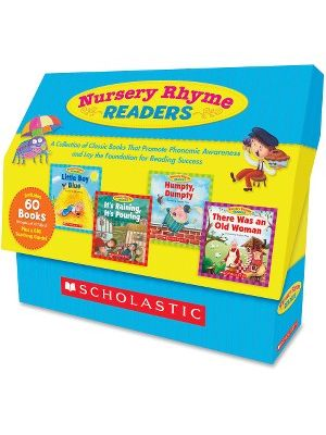 Scholastic Res. Nursery Rhyme Readers Book Collection Education Printed Book - English - Published on: 2011 - Hardcover