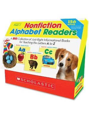 Scholastic Res. Pre K-1 Alphabet Readers Book Set Education Printed Book by Liza Charlesworth - English - Published on: 2013 June 1 - Book