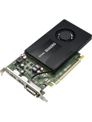 HP Quadro K2200 Graphic Card - 4 GB GDDR5 - Single Slot Space Required - 128 bit Bus Width - 4096 x 2160 - Fan Cooler - DirectX 11.1, OpenGL 4.4 - 2 x DisplayPort - 1 x Total Number of DVI - 3 x Monitors Supported