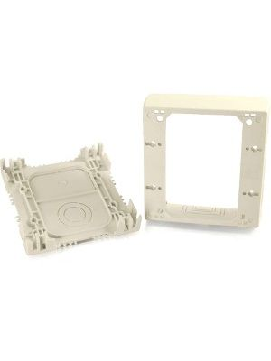 C2G Wiremold Uniduct Double Gang Deep Junction Box - Ivory - Ivory