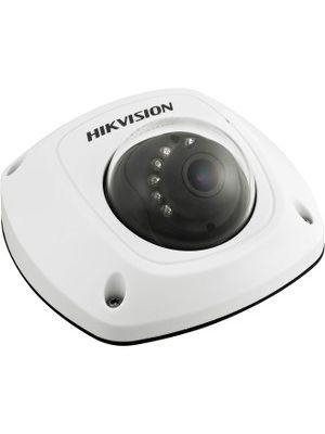Hikvision DS-2CD2512F-IS 1.3 Megapixel Network Camera - Color - 32.81 ft Night Vision - H.264, Motion JPEG - 1280 x 960 - 6 mm - CMOS - Cable - Dome - Wall Mount, Pendant Mount