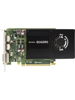 HP Quadro K2200 Graphic Card - 4 GB GDDR5 - Single Slot Space Required - 128 bit Bus Width - Fan Cooler - DirectX 11.1, OpenGL 4.4 - 2 x DisplayPort - 1 x Total Number of DVI (1 x DVI-I) - 3 x Monitors Supported - Dual Link DVI Supported