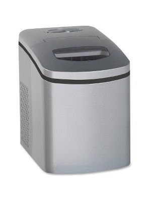 Avanti Portable Countertop Ice-Maker - 25 lb Per Day - Stainless Steel - Stainless Steel