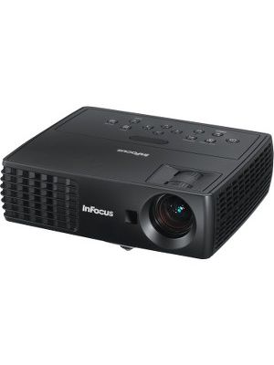 InFocus 3D Ready DLP Projector - 720p - HDTV - 16:10 - Front - 170 W - 6000 Hour Normal Mode - 10000 Hour Economy Mode - 1280 x 800 - WXGA - 4,000:1 - 2200 lm - HDMI - USB - 1 Year Warranty