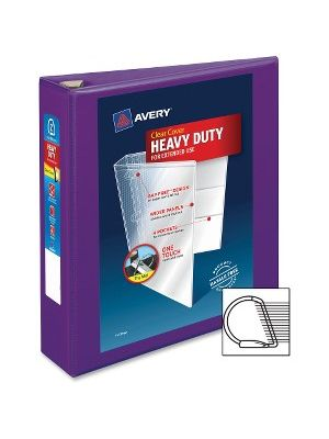 Avery® Heavy-Duty View Binders with Locking One Touch EZD Rings - 2