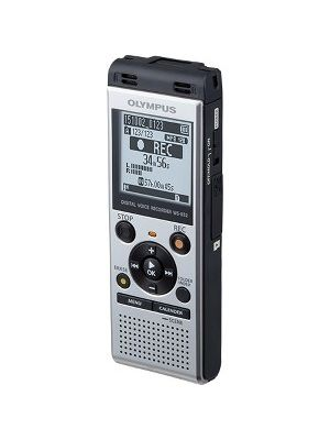 Olympus WS-852 4GB Digital Voice Recorder - 4 GBmicroSD Supported - MP3 - Headphone - 1040 HourspeaceRecording Time - Portable