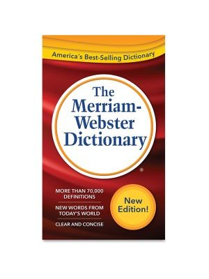 Merriam-Webster Dictionary Dictionary Printed Book - 960 Pages